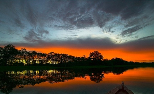 פרו, שקיעות בעולם (צילום: nature.new7wonders.com)