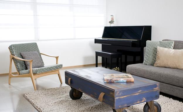 קרן שהם, פסנתר (צילום: רני לוריא)