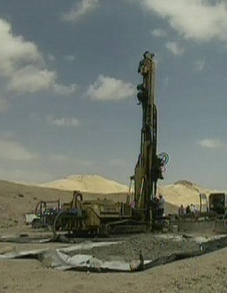 אורניום בלב המדבר הישראלי (צילום: חדשות 2)
