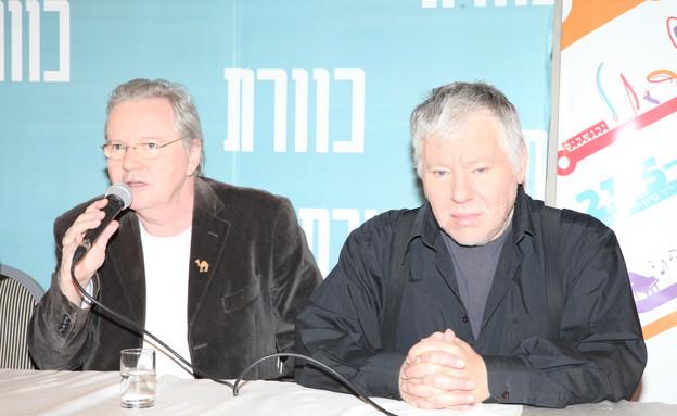 כוורת 2013: אלון אולארצ'יק, יצחק קלפטר (צילום: אורית פניני)