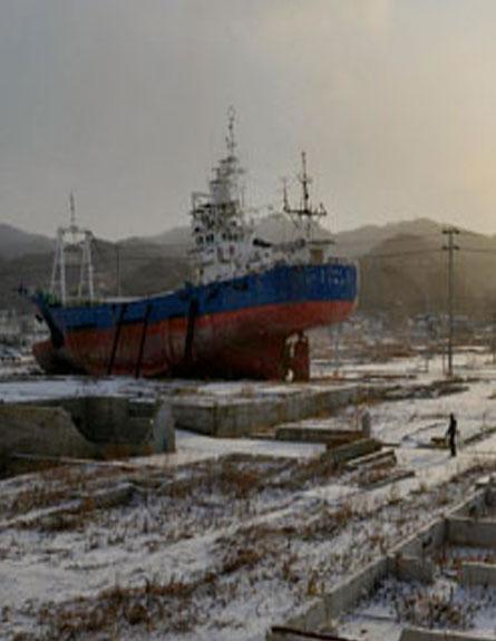 השאלה היומית: היכן עומדים מאמצי השיקום ביפן? (צילום: רויטרס)