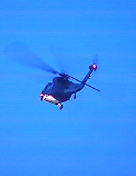 מסוק קוברה (צילום: חדשות 2)