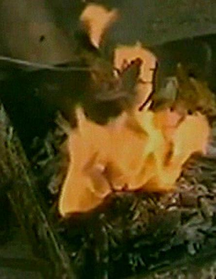 כך עושים על האש בסעודיה. צפו בכתבה (צילום: חדשות 2)