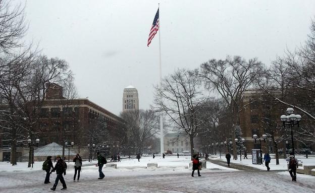 אוניברסיטת מישיגן (צילום: תומר ושחר צלמים)