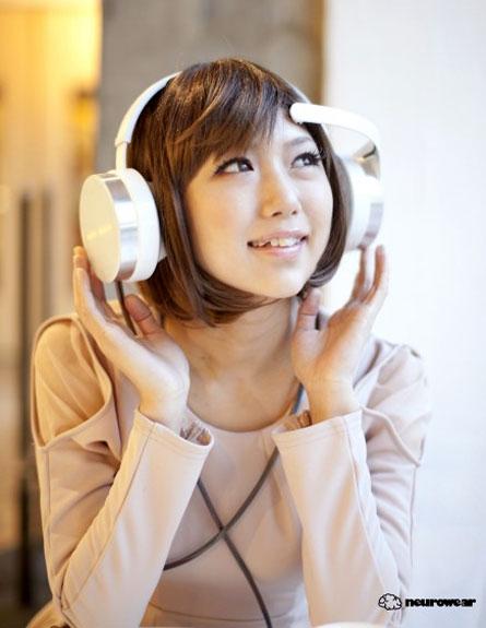 אוזניות העתיד (צילום: neurowear)