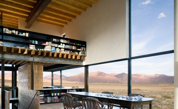 בית במדבר, סלון גלריה (צילום: Tim Bies)