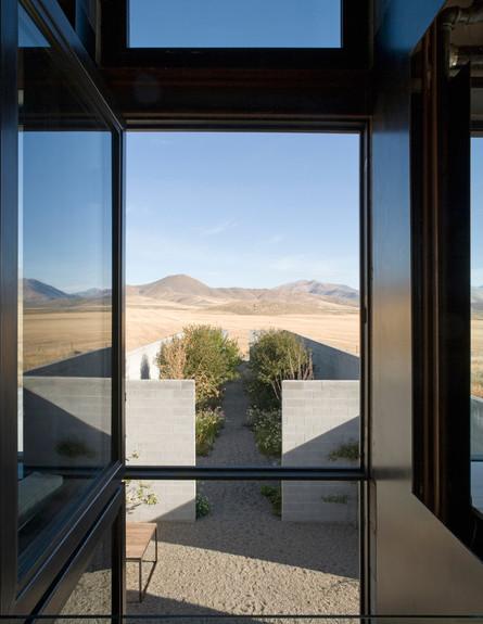 בית במדבר, חלון גדול