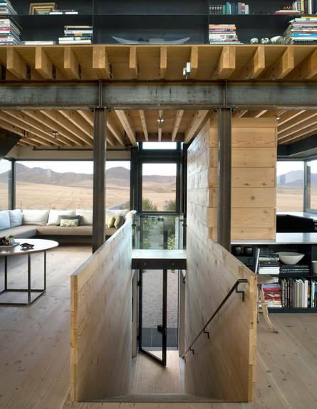 בית במדבר, מדרגות
