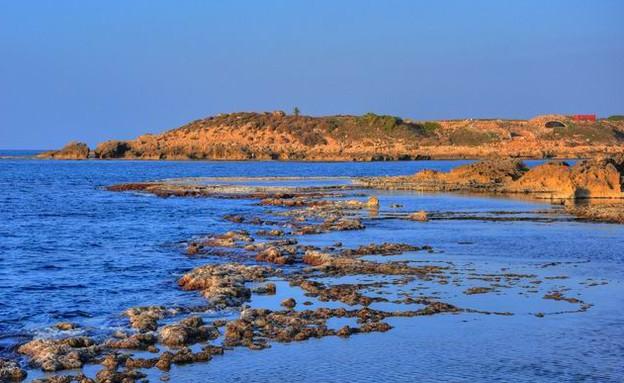 חוף דור (צילום: biblewalks.com)