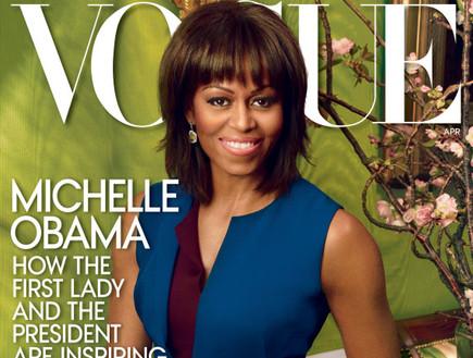 מישל אובמה על שער ווג