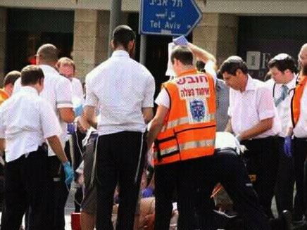 אסון במרתון תל אביב (צילום: בני גרנות - דוברות איחוד הצלה)
