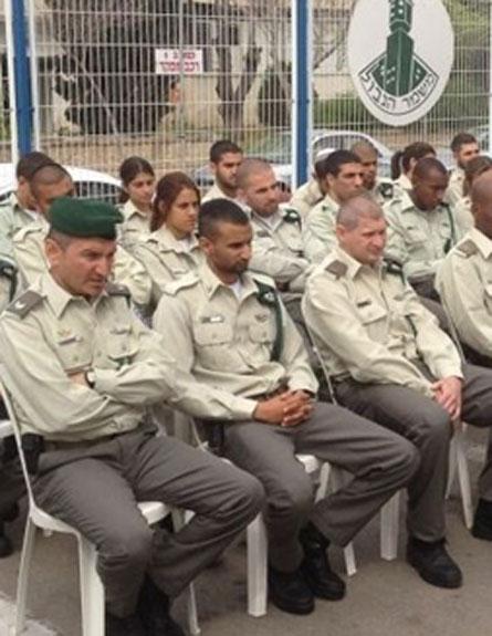 """יחידה חדשה של מג""""ב מתחילה לפעול בדרום ת"""" (צילום: דוברות משטרת ישראל)"""