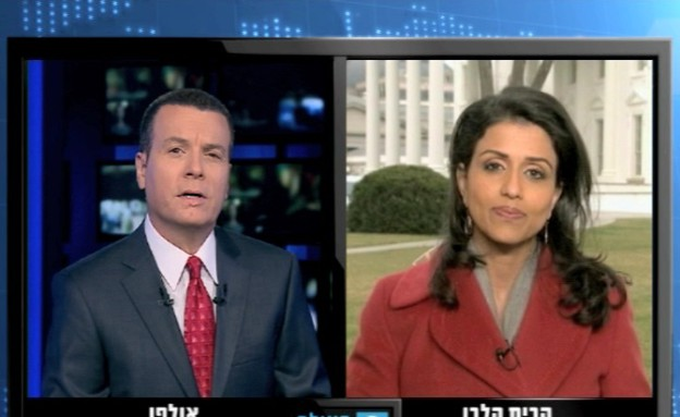 ראיון עם רינה נינן, כתבת הבית הלבן של רשת ABC (תמונת AVI: mako)