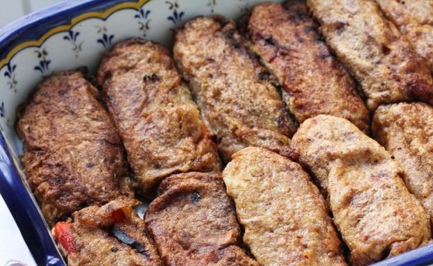 """ביורק - פלפלים ממולאים בגבינות (צילום: עידית נרקיס כ""""ץ, אוכל טוב)"""