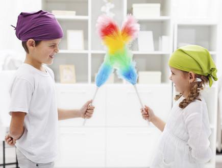 הכנת הבית, ילדים מנקים