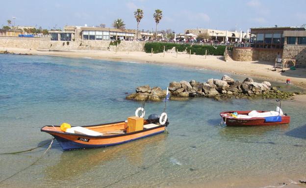 חוף קיסריה, , טיול יום ברכבת (צילום: איל שפירא)