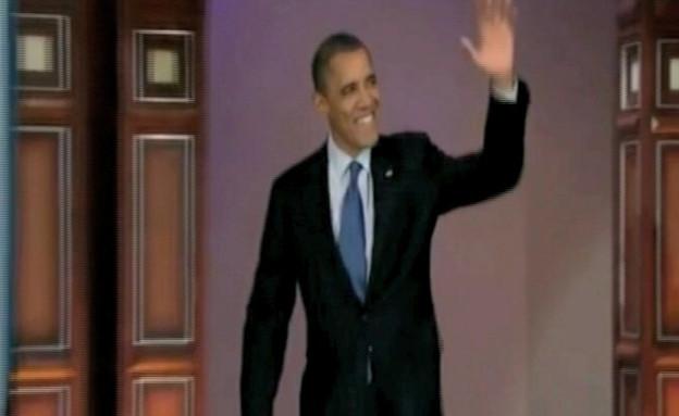 ברק אובמה בתכניות אירוח אמריקאיות (תמונת AVI: mako)