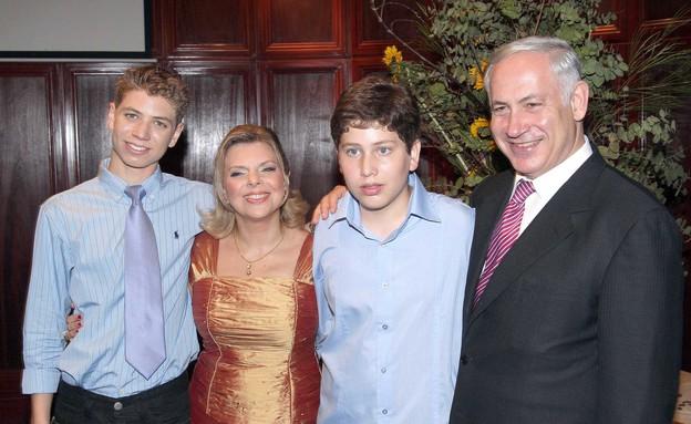משפחת נתניהו צילום רפי דלויה (צילום: רפי דלויה)