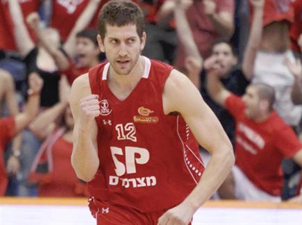 הישראלים לא מתכוונים לוותר. מתן נאור (אלן שיבר) (צילום: ספורט 5)