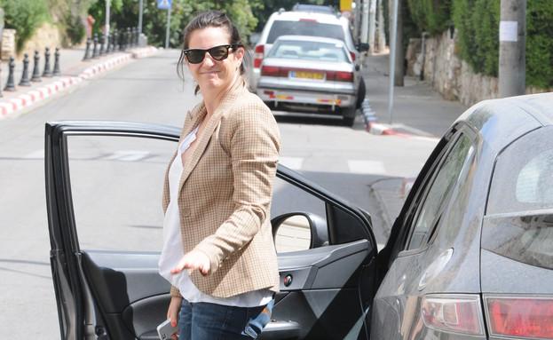 יעל שרוני נפגעת (צילום: ברק פכטר)
