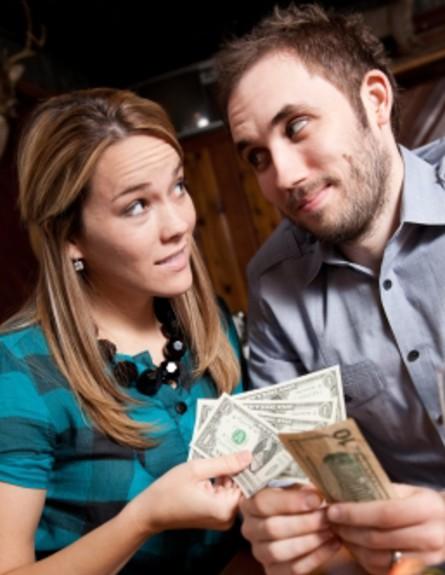התנהלות כספית זוגית (צילום: istockphoto)