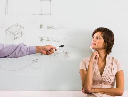 אישה, רעיון, עסקים, עבודה