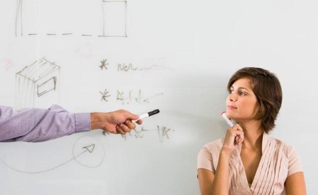 אישה, רעיון, עסקים, עבודה (צילום: אימג'בנק / Thinkstock)