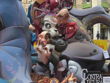 תהלוכת בובות, פסטיבל ולנסיה