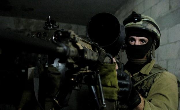 """תרגיל של יחידת המסתערבים דובדבן (צילום: עיתון """"במחנה"""")"""