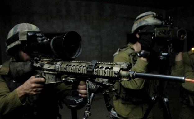 תרגיל יחידת המסתערבים דובדבן (צילום: במחנה)