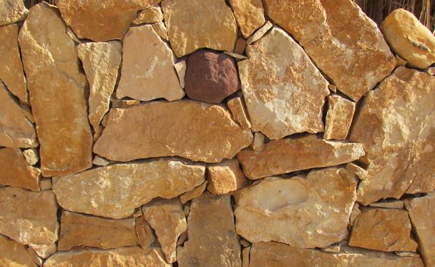 מדבר, בית שאג, חומרים אבנים, צילום לימור זומר-אריק (צילום: לימור זומר-אריק)