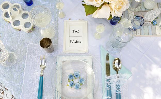 שולחן פסח, מים סכום (צילום: יואב ז'אק)
