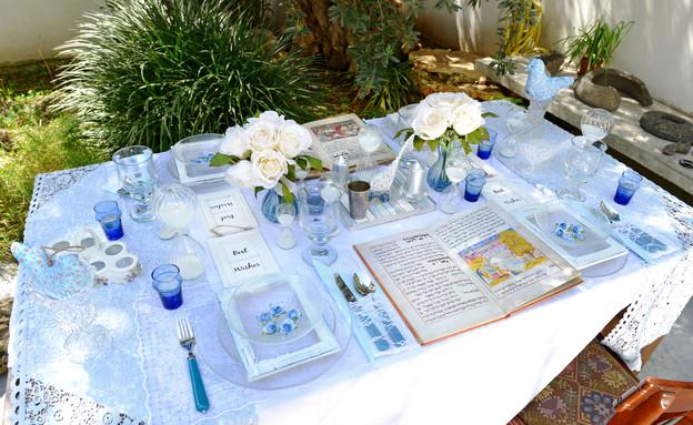 שולחן פסח, מים ערוך (צילום: יואב ז'אק)