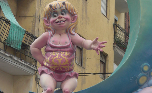 בובה על חוט, פסטיבל ולנסיה (צילום: לירון מילשטיין)