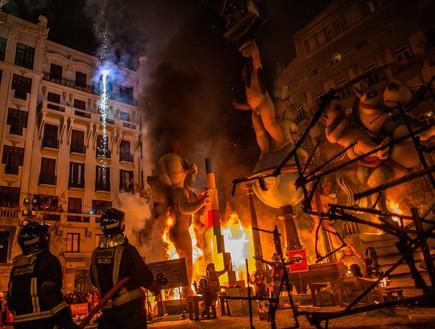 שריפה, פסטיבל ולנסיה