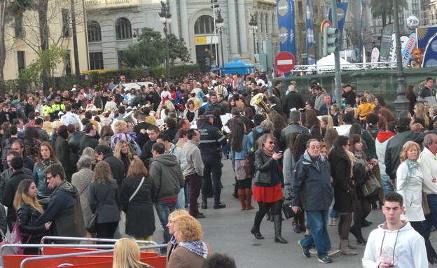 אנשים, פסטיבל ולנסיה (צילום: לירון מילשטיין)