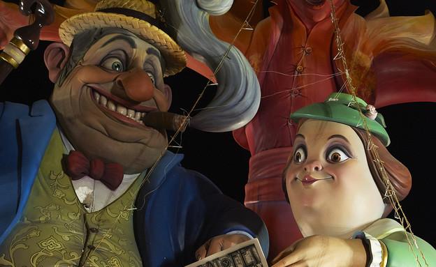 בובות, פסטיבל ולנסיה (צילום: אימג'בנק/GettyImages)