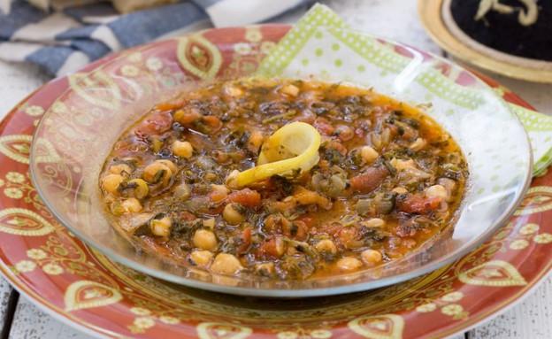 מרק חרירה אלג'יראי (צילום: בני גם זו לטובה, אוכל טוב)