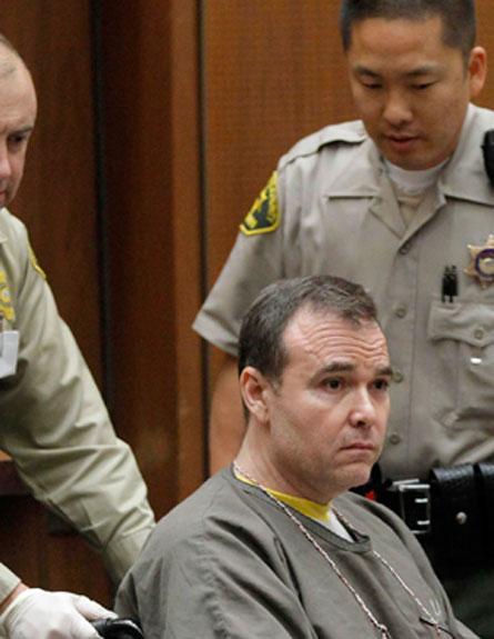 השף הרוצח בבית המשפט (צילום: AP)