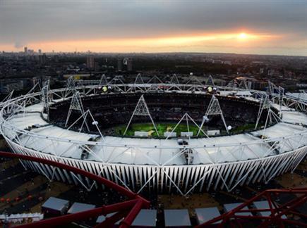 בית חדש לפטישים. האיצטדיון האולימפי בלונדון בטקס הפתיחה (gettyimag (צילום: ספורט 5)