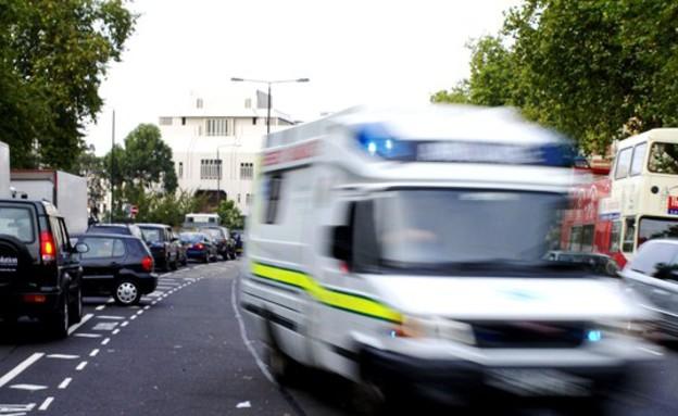 אמבולנס (צילום: אימג'בנק/GettyImages, getty images)