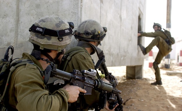 אימון של יחידת דובדבן (צילום: במחנה)