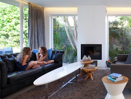 בית פונזר, שטיח סלון