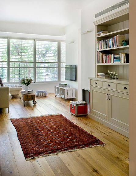 דירה ישנה, פרקט (צילום: גלית דויטש דביר)