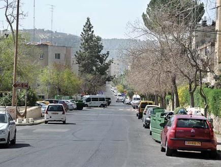 רחוב אברהם שטרן ירושלים