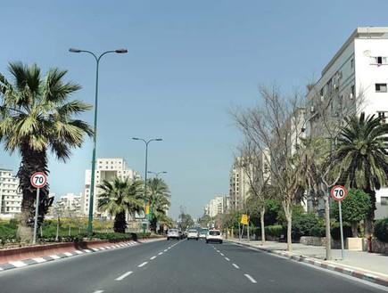 רחוב לוי אשכול תל אביב