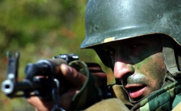 חייל גאורגי (צילום: צבא גאורגיה)