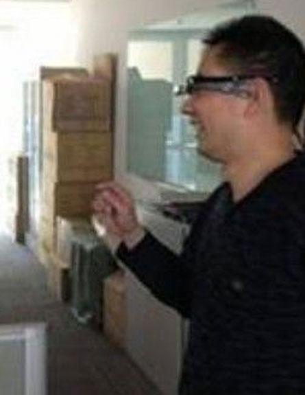 האם אלו המשקפיים החכמים הסיניים? (צילום: http://tech.huanqiu.com/)
