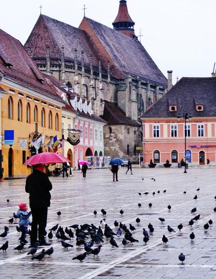 כיכר, רומניה (צילום: סער פלס)