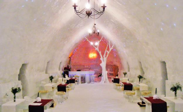 מלון הקרח, רומניה, סער פלס (צילום: סער פלס)